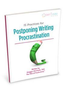 postponing