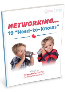 "Networking... 19 ""Need-to-Knows"" - eBook Cover"