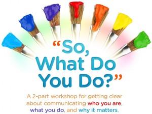 So What Do You Do? - eBook Cover