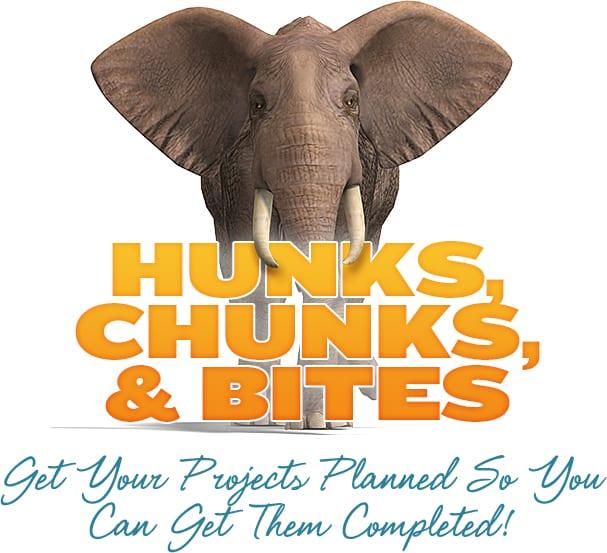 Hunks, Chunks, Bites Elephant